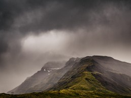 Storm clouds Iceland