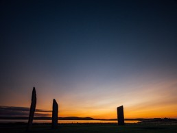Standing Stones of Stenness Sunset