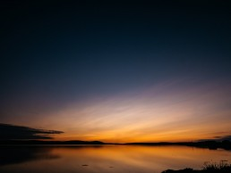 Stenness Loch Sunset