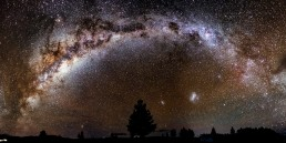 A Night Under the Stars - Milky Way Panoramic photo print