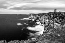 Marwick Head, Orkney Scotland in Black and White by Scott van Schayk - Scottvs Photo