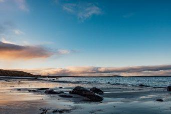 Winter beach, Orkney