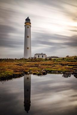 Barns Ness Lighthouse landscape photo print Scottvs. Photography