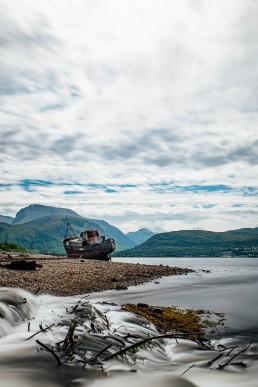 The Old Boat of Caol, Fort William, Scotland